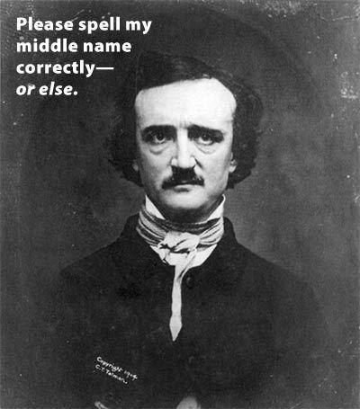 Edgar Allan Poe 壁纸 entitled Poe