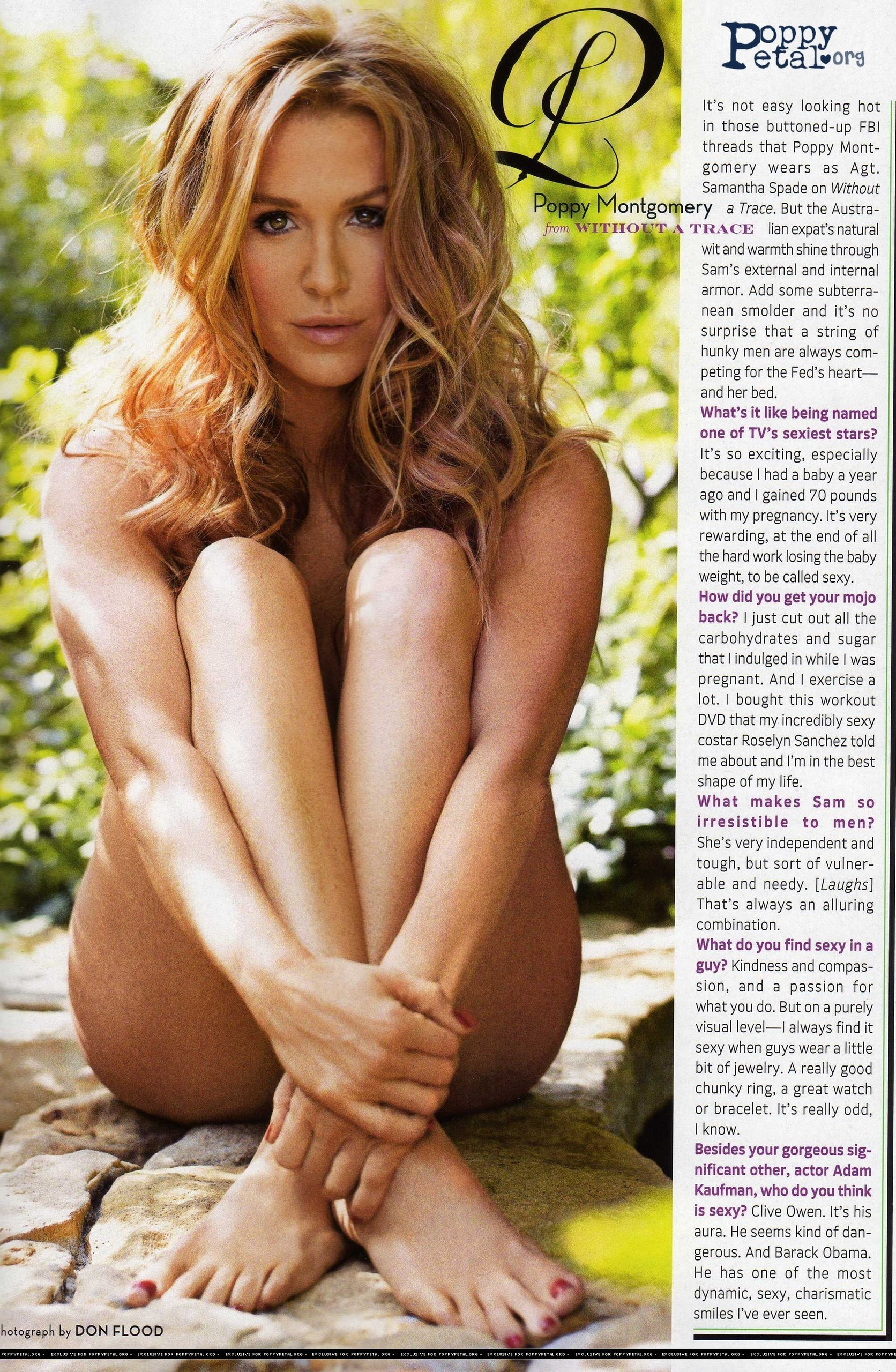 Poppy Montgomery - Picture Hot