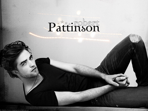 Robert Pattinson karatasi la kupamba ukuta possibly containing a leotard and tights called Rpattz