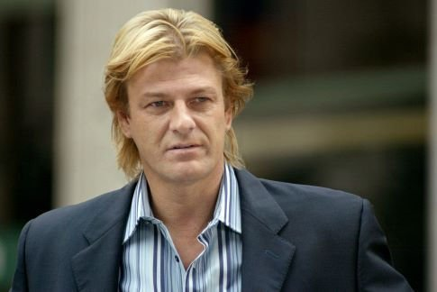 Sean Bean wallpaper containing a business suit titled Sean Bean as Ian Howe in National Treasure