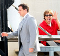Steve on the set of Date Night - steve-carell photo