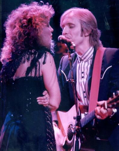 Stevie Nicks and Tom Petty
