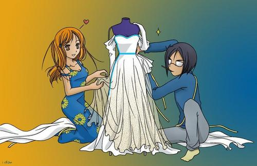 Stitch Me a Wedding gaun