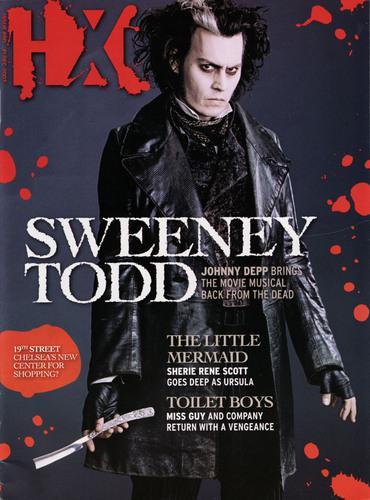 Sweeney on Magazine Covers