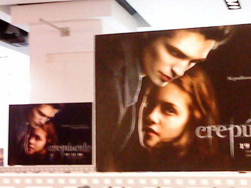 Twilight DVD in Mexico