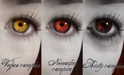 Vampire Eyes - twilight-series Fan Art