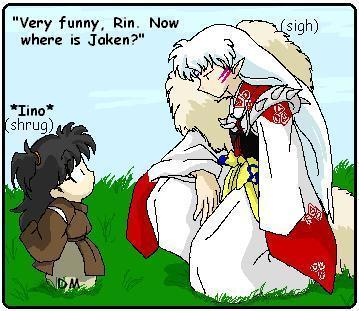 Inuyasha wallpaper containing anime titled WTF