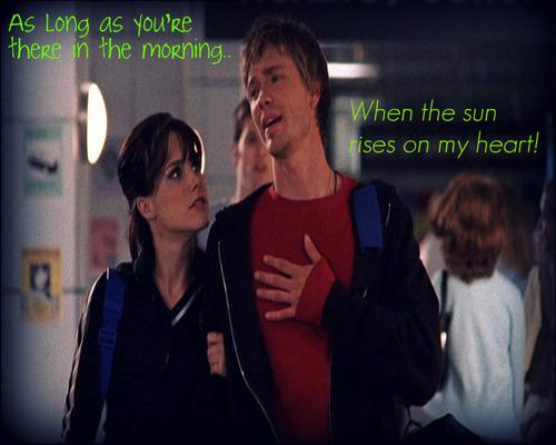 When the sun rises on my heart!
