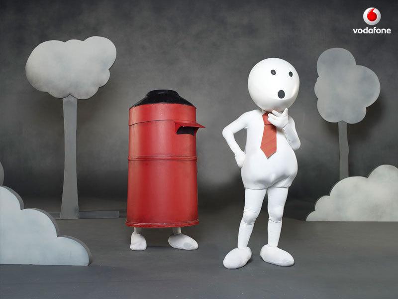 Xerox Ad Vodafone Zoozoo images...