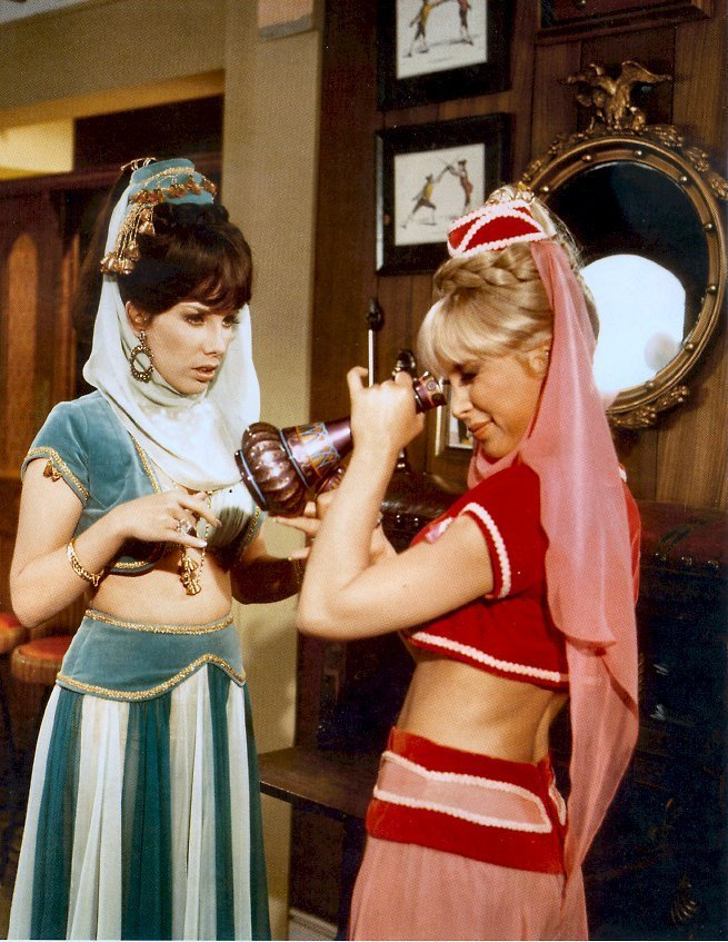Major Nelson and Jeannie images i dream of jeannie HD ...
