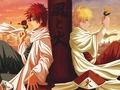 kage Naruto and Gaara - naruto-fanfiction wallpaper