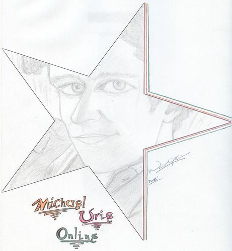 michael urie drawing