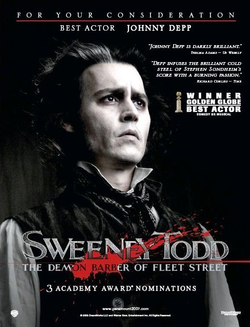 Sweeney Todd Images Poster Wallpaper And Background Photos