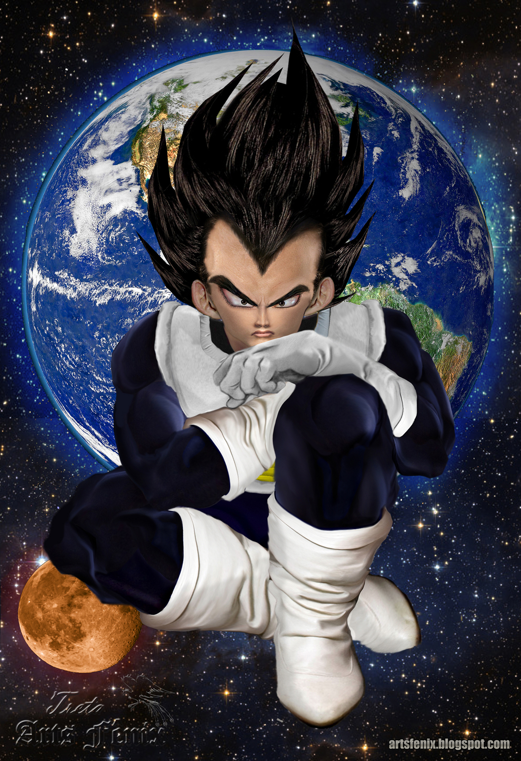 Dragon Ball z Vegeta Vegeta Real Dragon-ball-z