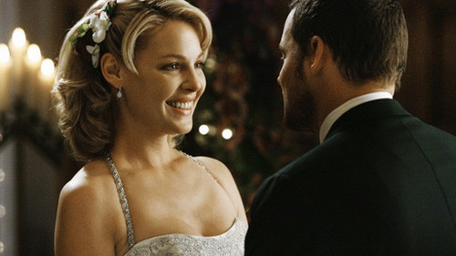 Alex and Izzie wallpaper possibly with a business suit and a bridesmaid titled Alex and Izzie