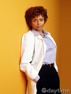 Angie Hubbard played par Debbi morgan