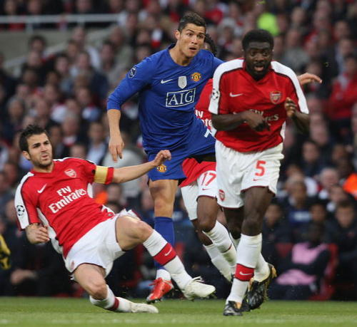 Arsenal vs. Man United,May 5th,2009