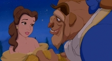 Disney Couples wallpaper with anime called Belle and the Beast