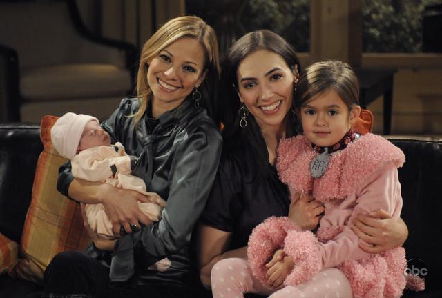 Bianca & Reese with Miranda & Gabrielle
