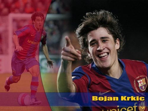 Bojan Krkić wallpaper probably containing a basketball player and a tennis pro titled Bojan Krkić