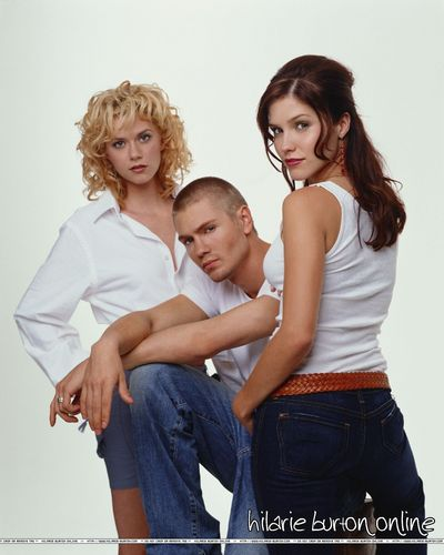 Brooke and Lucas and Peyton