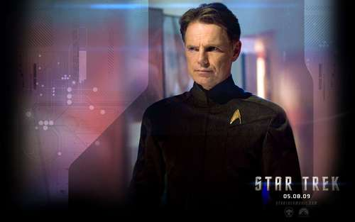 Capt. Pike - star-trek-2009 Wallpaper