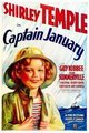 Captain January Poster - shirley-temple fan art