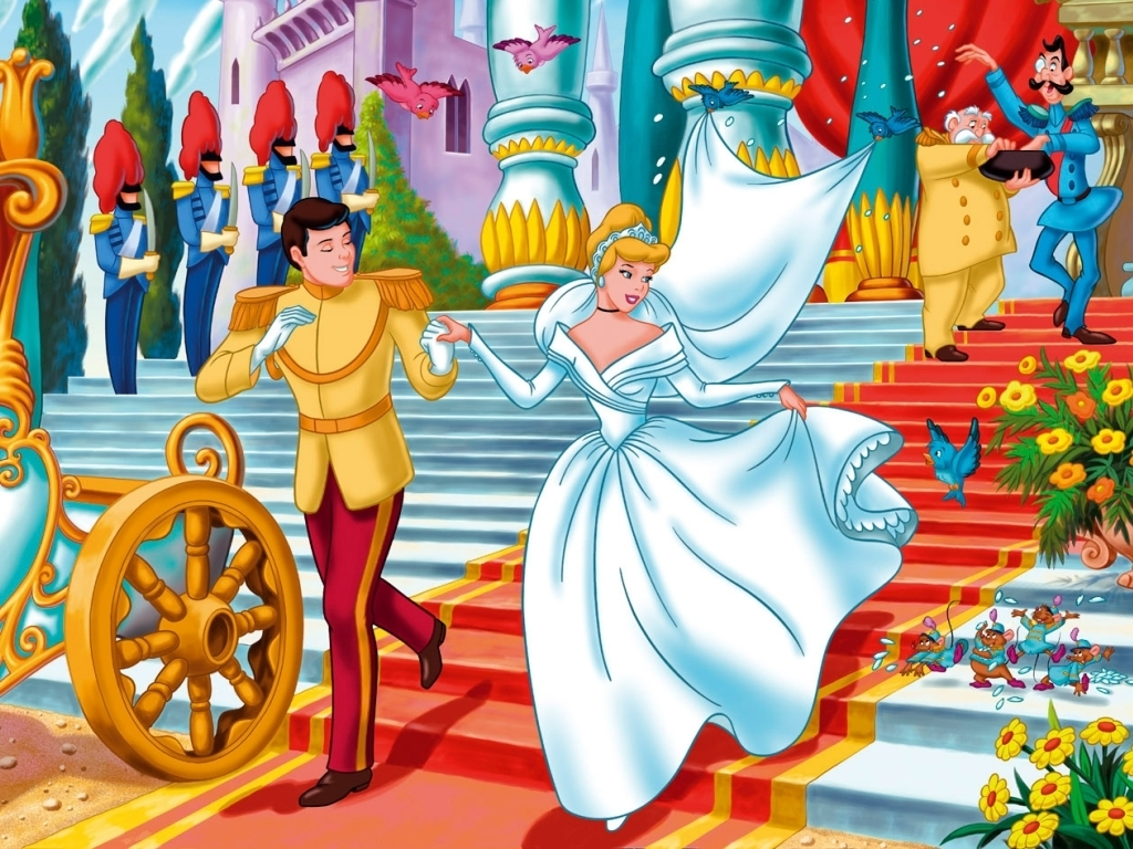 Wallpapers Cinderella-Wallpaper-classic-disney-6038332-1024-768