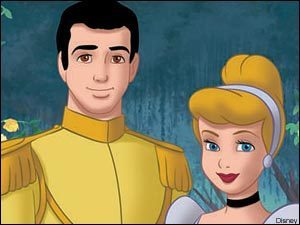 Disney Couples wallpaper containing anime entitled Cinderella and Prince Charming