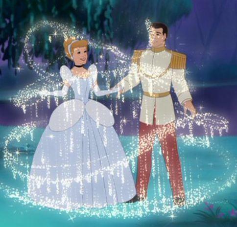 Sinderella and Prince Charming