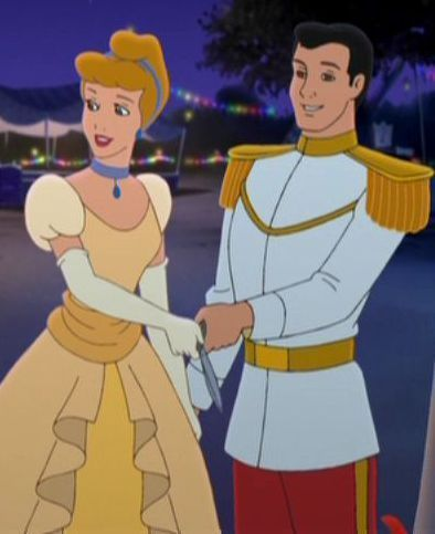 Disney Couples wallpaper with anime entitled Cinderella and Prince Charming