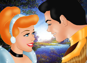 Disney Couples wallpaper titled Cinderella and Prince Charming
