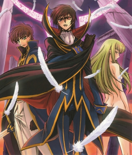 Code Geass wallpaper probably with Anime titled Code Geass