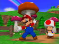 Dance Dance Revolution: Mario Mix - toad screencap