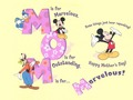 Disney Mother's hari kertas dinding