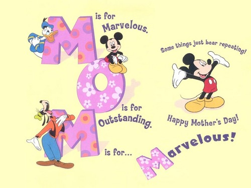 Disney wallpaper entitled Disney Mother's Day Wallpaper