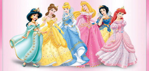 Disney Princess wolpeyper entitled Disney Princesses