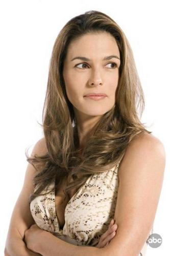 Dixie's sister, Lanie played によって Paige Turco