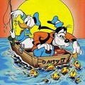 Donald pato Fishing