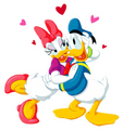 Donald and marguerite, daisy canard