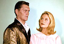 Elizabeth Montgomery And Dick York In hechizada