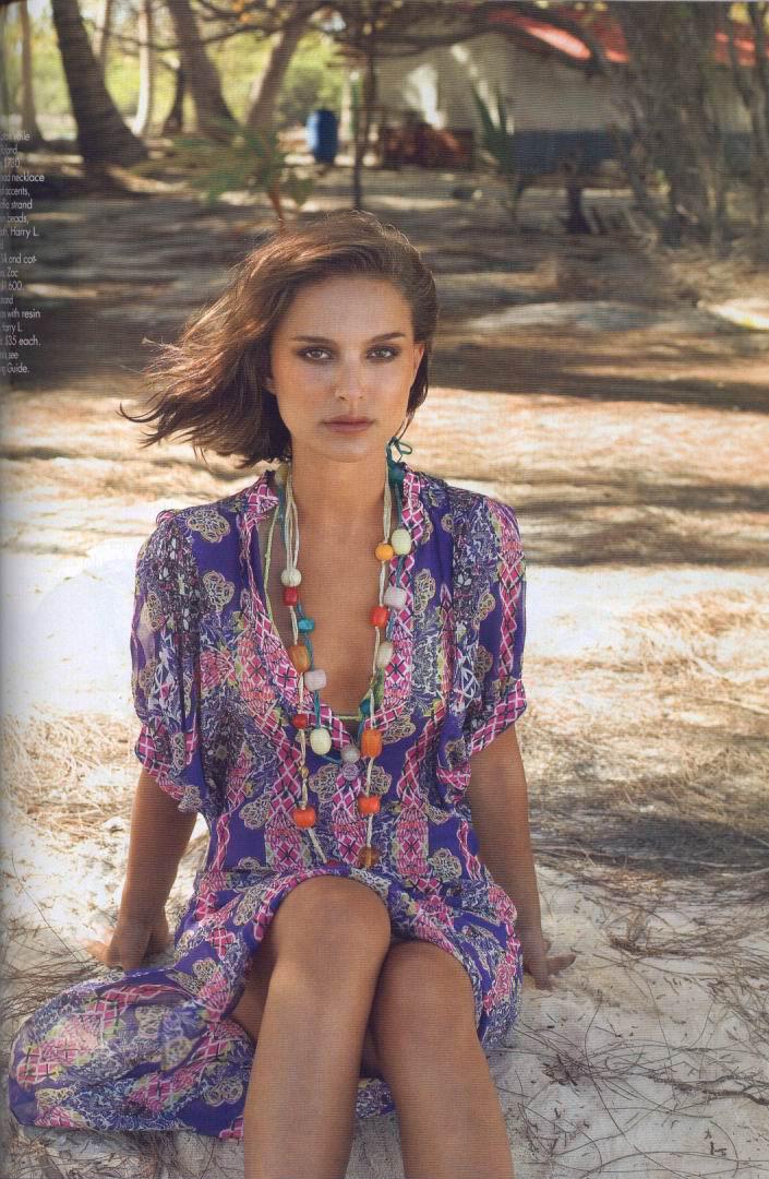 Natalie Portman Elle. Elle USA December 2004
