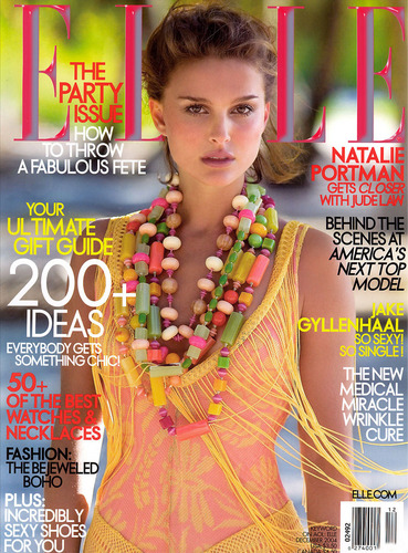 Elle USA December 2004 photoshoot