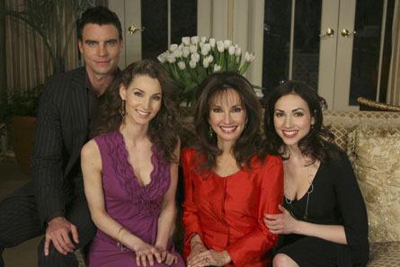 Erica Kane & her children, Josh, Kendall, & Bianca