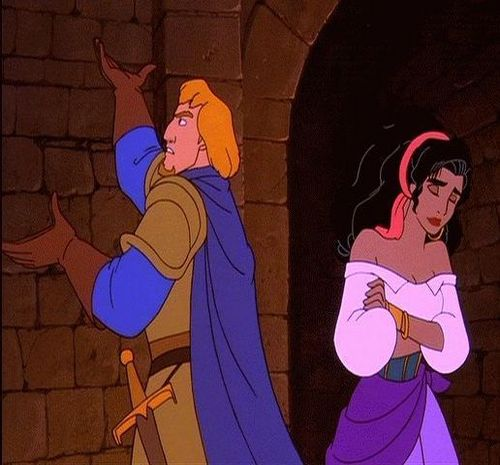 Esmeralda and Phoebus