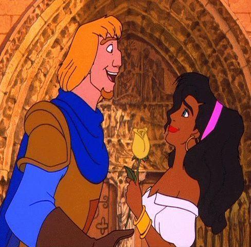 Esmeralda and Phoebus