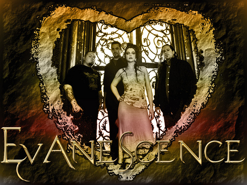 Evanescence wallpaper probably with a stained glass window and a street entitled Evanscence