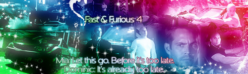 Fast and Furious Banner سے طرف کی Daan Design