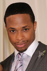 All My Children wallpaper with a business suit and a suit entitled Frankie Hubbard played by Cornelius Smith Jr