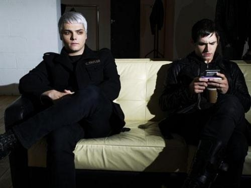 Gerard and Mikey Way